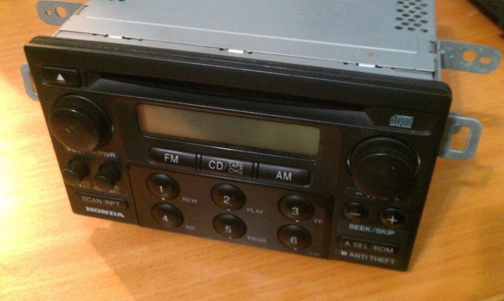 Honda Radio CD Player 98 99 2000 Accord Head Unit    39101-S82-A210-M1   MF928AO