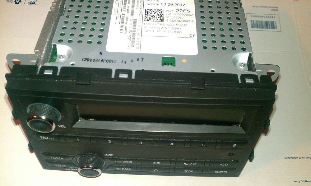 2012 Chevrolet Sonic MP3 Radio OEM GM2265, 95242265,811403062,mfg sep 2012