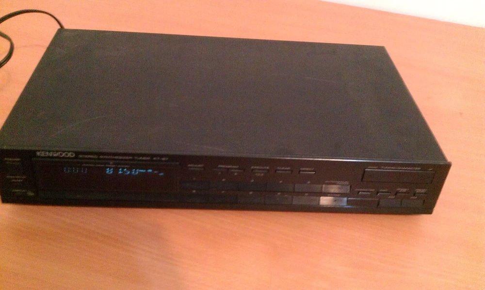 Kenwood KT-87 Stereo Synthesizer Tuner , Vintage.