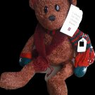 *HOLIDAY BEAR * BEARY BEST FRIEND * SO SOFT YOU CAN'T PUT IT DOWN * #180463*