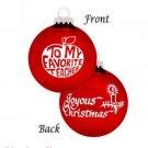 Bronner Christmas Ornament* FAVORITE TEACHER * #85608 * FREE SHIPPING *