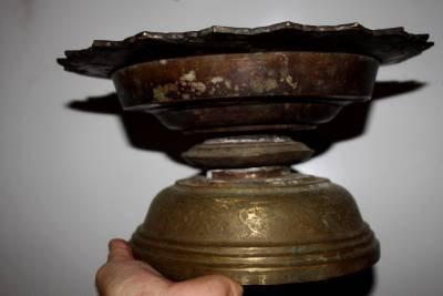 Antique Cambodian  Brass Stand