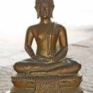 Antique Old Asian Bronze Buddha #6