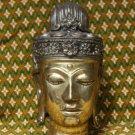 Asian Brass Buddha Head #8