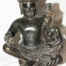 Asian Khmer Cambodian Bronze DeityStatue #O7