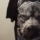 MENS GRAPHIC COTTON BULLDOG T-SHIRT L XL