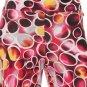 WOMENS PINK FUSCIA CASUAL FLARE LEG DISCO PANTS 70's ERA INSPIRED SIZE S M L