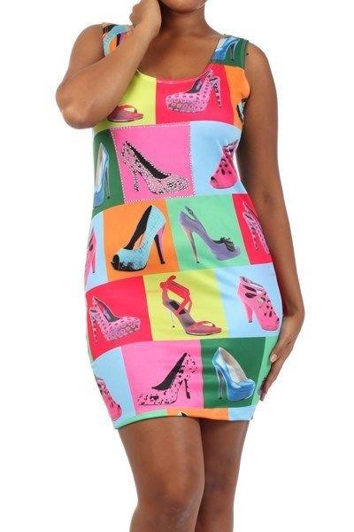 WOMENS MULTICOLOR PINK BODYCON PLUS SIZE DRESS SIZE 1x 2x 3x WITH RHINESTONES