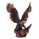 Majestic Eagle in Flight Statue