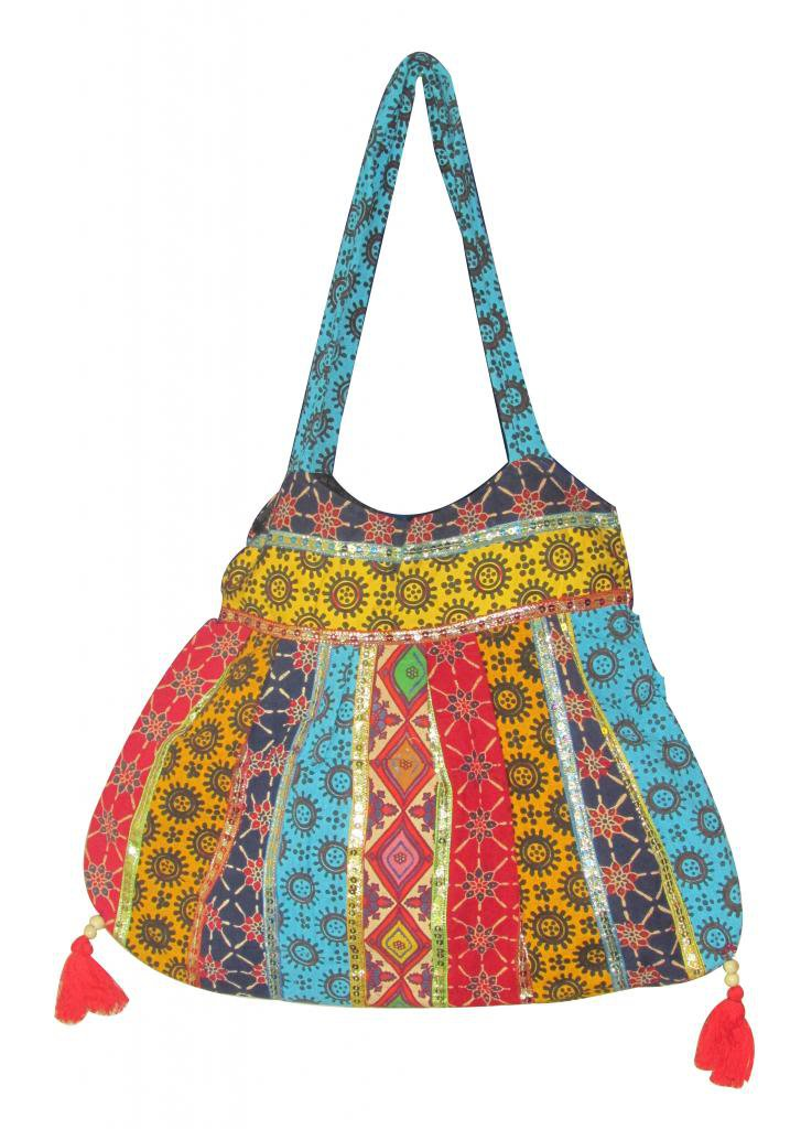 Beautiful Handmade Sling Shoulder Bag, Hippie, Boho, Gypsy Beach, Ethenic Tribal