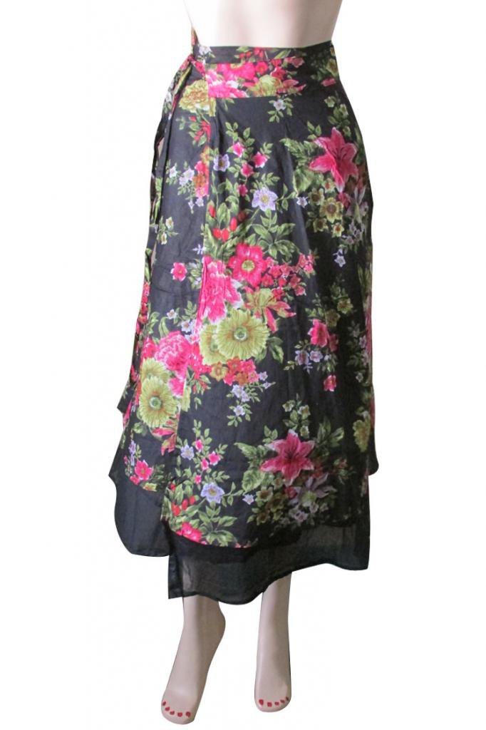 Wrap Round Skirt Beach Casual Party Wear Boho  Woman skirts Indian Summer Wear