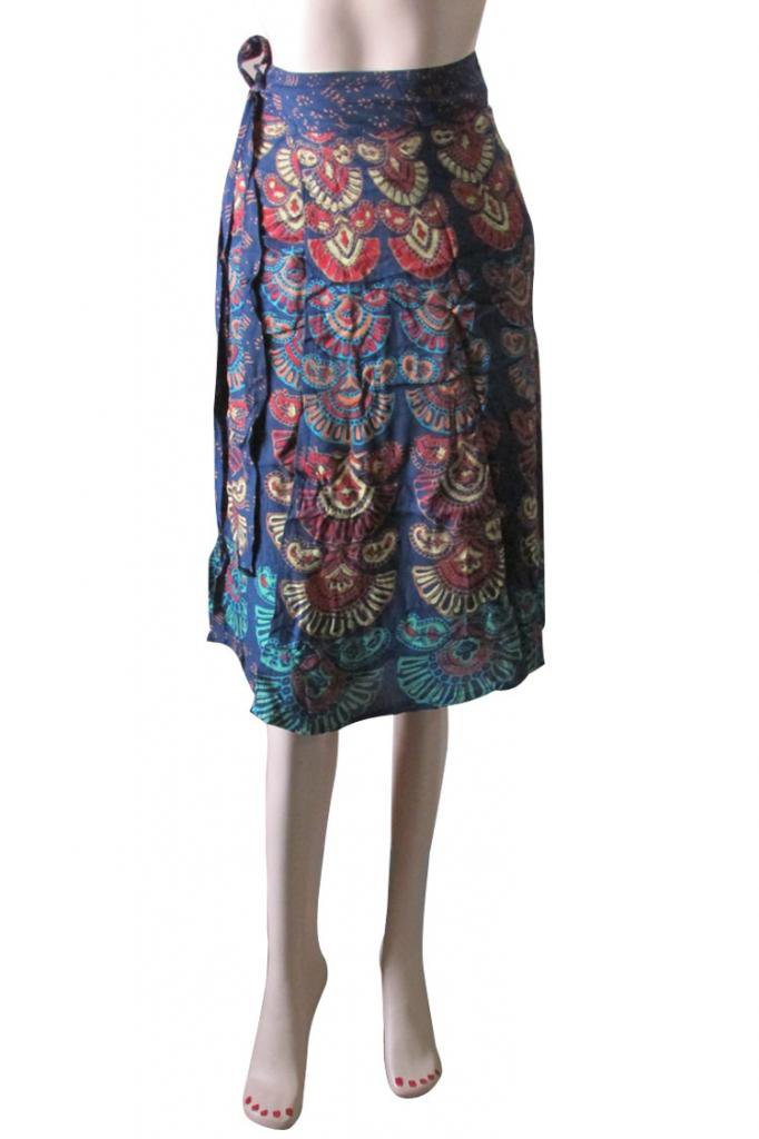 Wrap Round Skirt Beach Casual Party Wear Boho Woman skirts Indian Summer Wear