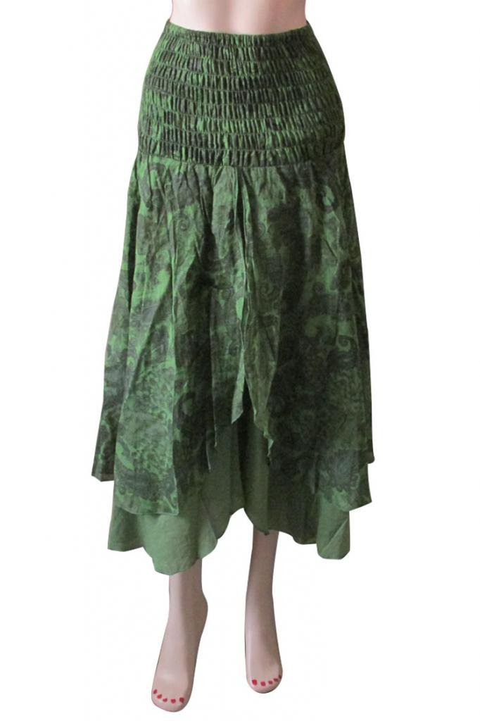 Boho Woman skirts Indian Style Summer Wear Long Skirt Beach Casual Party Wear
