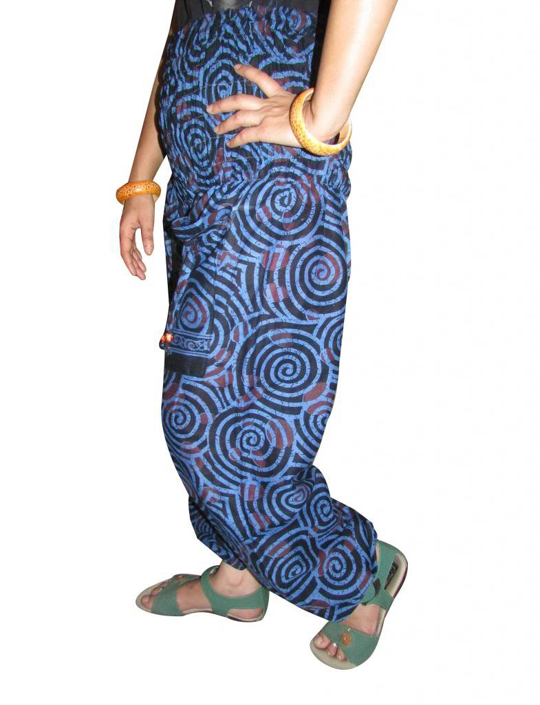 Harem Pants, Aladdin Jump Suit, Boho Pant,Gypsy,  Genie, Indian Cotton Trouiser,