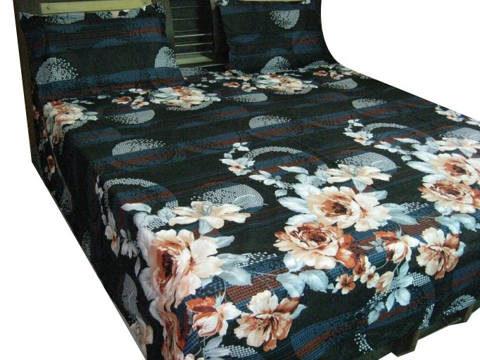 Luxury Cotton Imported New Bed Sheet/ Fine Quality Branded JAIPURI BED Sheet,