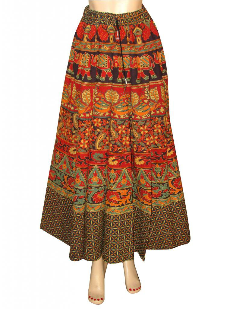 Woman skirts Indian Style Summer Wear Long Skirt Beach Casual Party Wear Boho