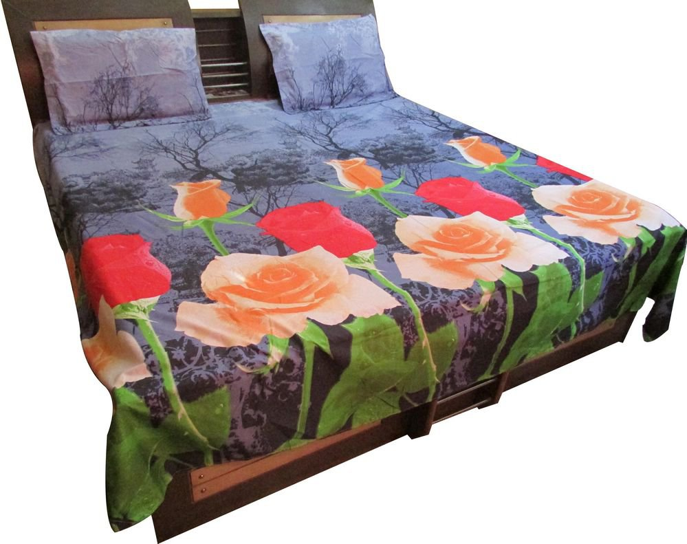 Fine Quality Branded JAIPURI BED Sheet,  Luxury Cotton Imported New Bed Sheet/