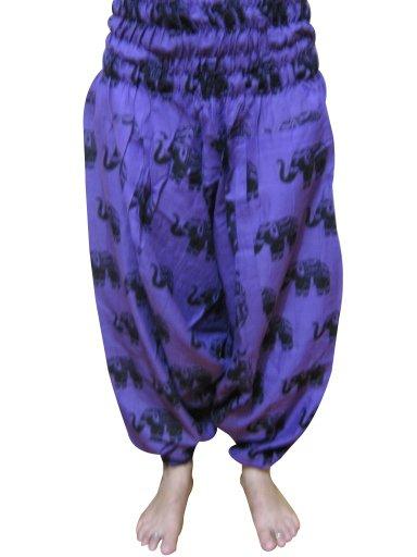 Harem Pants,Trouiser, Baggy, Gypsy, Boho Pant, Aladdin Indian  Jump Suit, Genie,