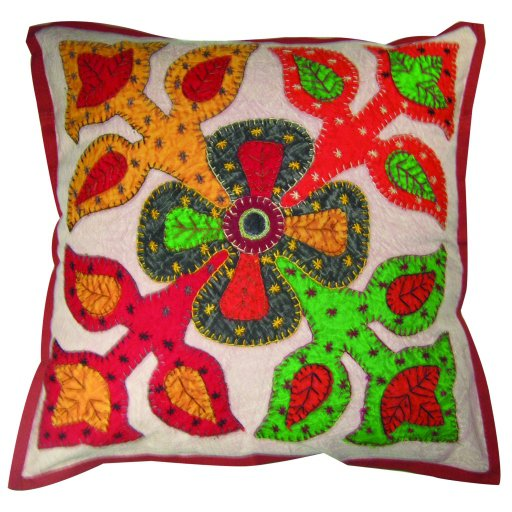 New Cushion Cover Whole Sale Lot Pillow Covers 16 X 16 Throw Bird Print Kantha,