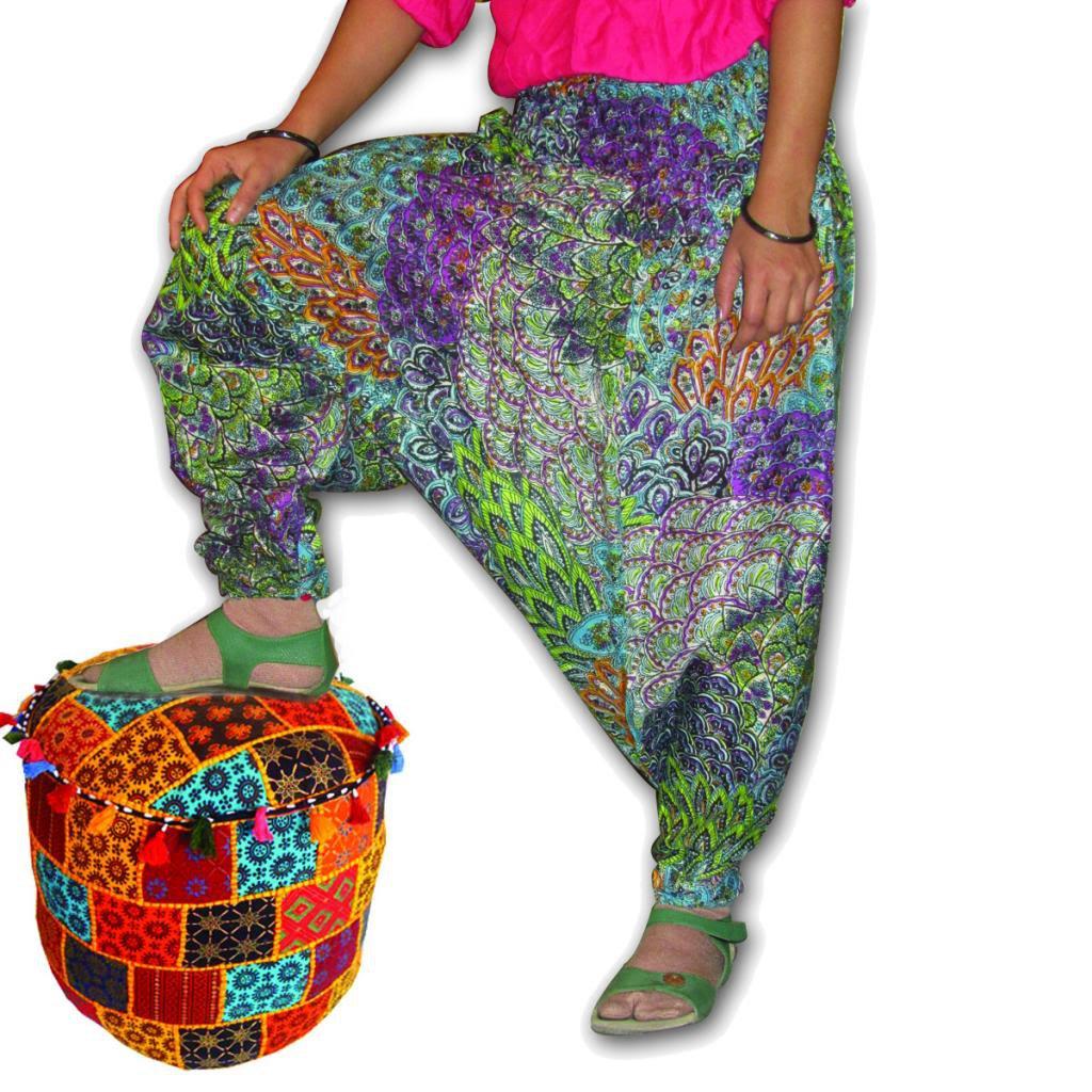 Wholesale Lot 10Pc Harem Designer Alibaba Trouser Boho Gypsy Baggy Yoga pants