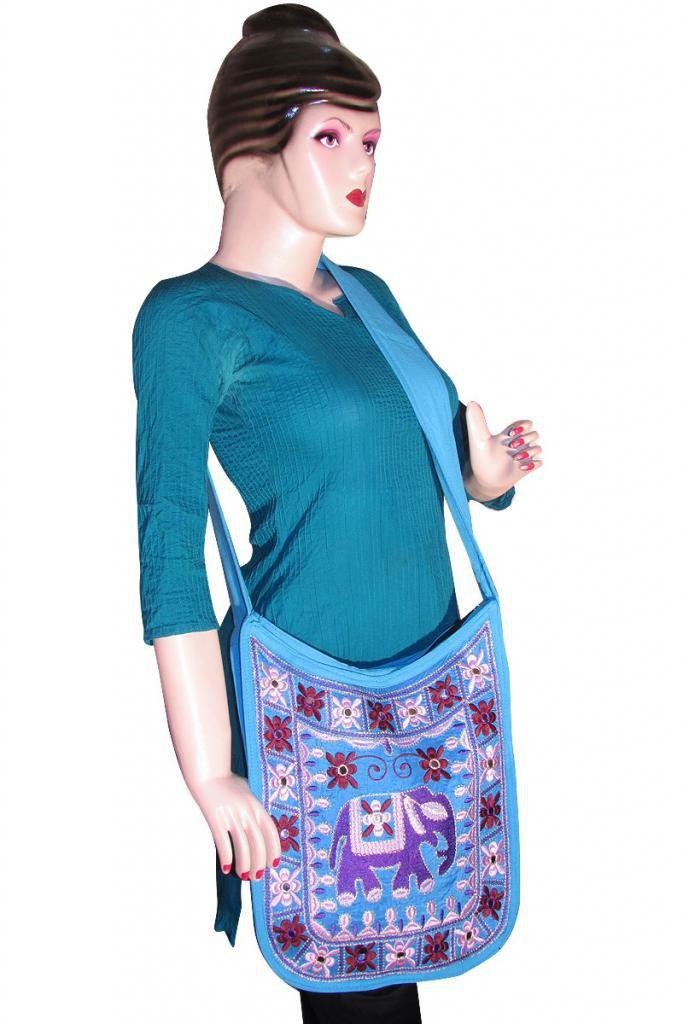 Ethenic Tribal Stylish Handmade Sling Shoulder Bag, Gypsy Beach, Hippie, Boho,