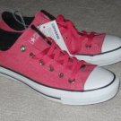 ALL STAR Converse Sneakers Pink Canvas Size 6 Women/ 4 Men
