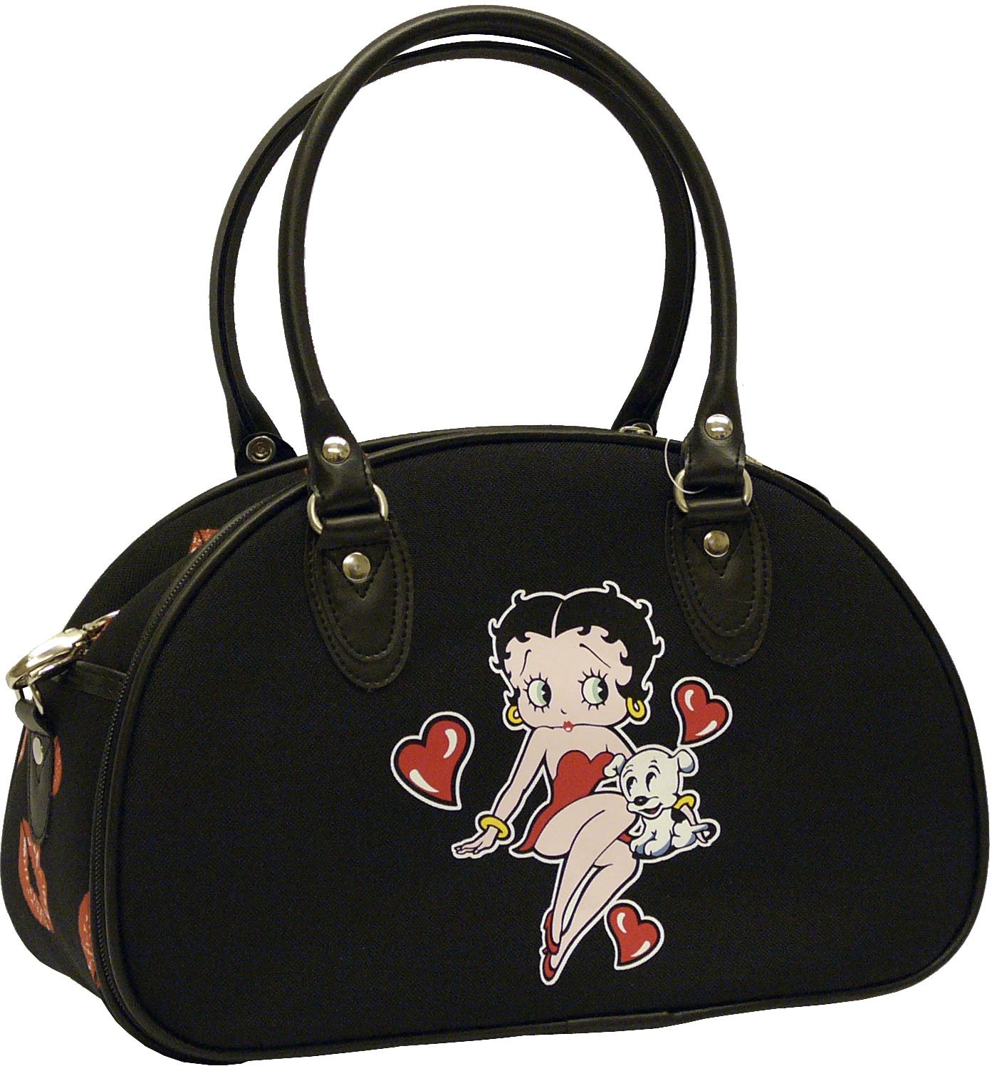 Betty Boops Black Carry On Bag - 13""