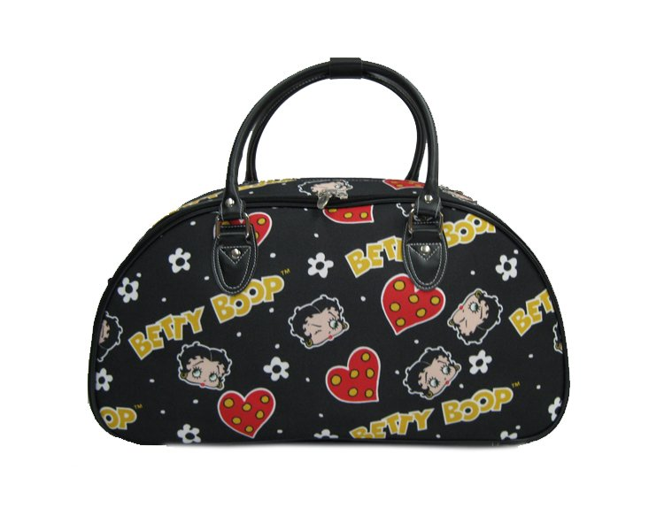 """Betty Boops Black Carry On Bag - 20"""""""