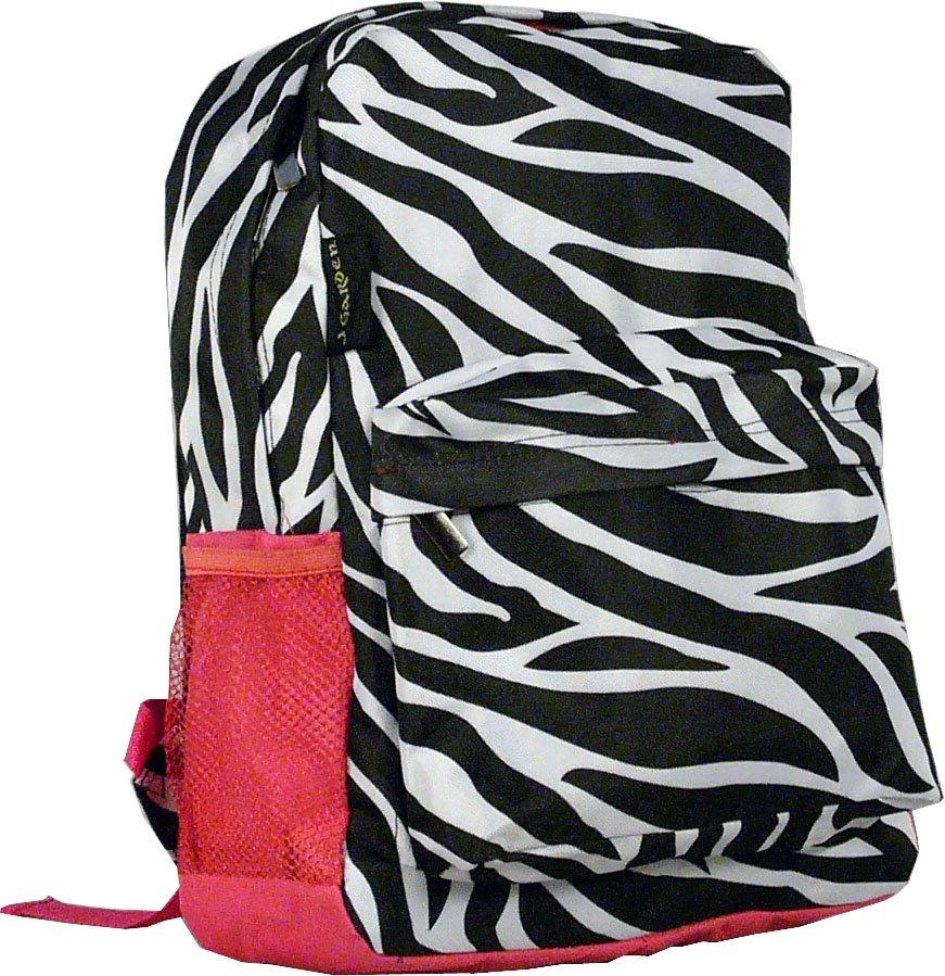 """Zebra Backpack - 16"""""""