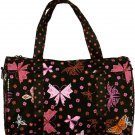 Pink Butterfly Duffel Bag - 19""