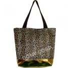 Leopard Shopping Bag - 17""
