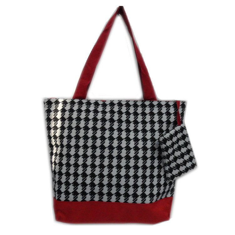Houndstooth Shopping Bag