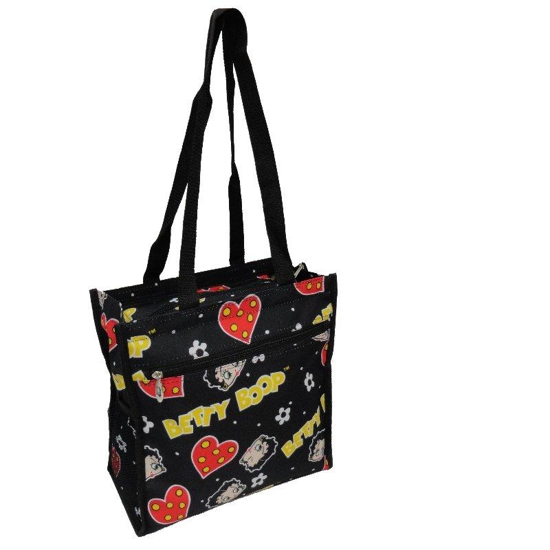 """Black Betty Boop Tote Bag - 12"""""""
