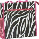 "Zebra Pink Trim - 12 """