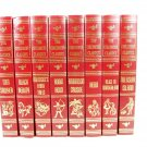 THE CHILDREN'S CLASSICS Set of 8 Red Gold Hardcover Holt Rhinehart and Winston Fast Free Ship