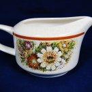 TEMPER WARE by LENOX Magic Garden Floral Creamer Made in USA Fast Free Ship