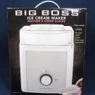 BIG BOSS Ice Cream Maker Sorbet Sherbet Frozen Yogurt Drinks 2 QT 50W NEW in Box Fast Free Ship