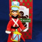POSSIBLE DREAMS 1994 Drummer Boy w/ Red Coat Christmas Figure Folkraft Fast Free Ship