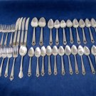 VTG National Stainless Steel Flatware Lot of 35 BARONY S-3358 Japan Fast Free Ship