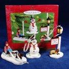 HALLMARK Keepsake Ornament Victorian Christmas Memories Thomas Kinkade Painter Fast Free Ship