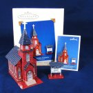 HALLMARK Keepsake Holiday Christmas Ornament Hometown Church Town and Country Fast Free Ship