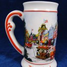 1986 DISNEYLAND 3D Images  Mainstreet Sleeping Beauty Castle  Stein Mug Fast Free Ship