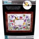 ZWEIGART ARTISTE Stamped Cross Stitch Best Things in Life Floral Fast Free Ship
