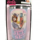Mattel Barbie 2009 Travel Mug Born To Jet Set Air Hostess Service With Style NEW Fast Free Ship