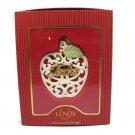 Lenox Someone Special For My Teacher Ornament Apple Porcelain Ornament