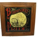 Hensley Co The Bartenders Pride A Remedy For Everything Picture Wood Frame Sign
