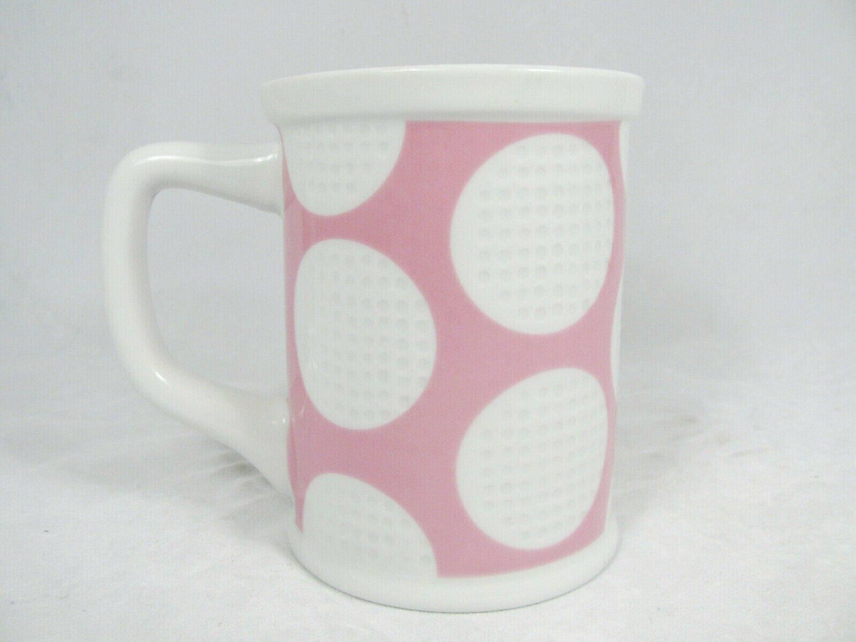 Gifts Gallery Golf Golfer Bogey Eagle Birdie White Pink Coffee Tea Mug Cup 16 Oz