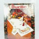 """Bucilla Christmas Music Embroidery Stamped Cross Stitch Tablerunner 14"""" x 44"""""""