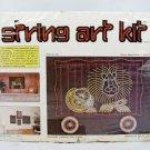 "Vintage McCulla Crafts Mid Century String Art Kit Circus Lion 8613 12"" x 16"""
