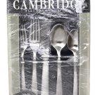Cambridge Silversmiths Transition 5 Place Settings Hostess Set Flatware Satin